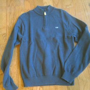 Vineyard Vines NEW! Navy 1/4 Zip Pullover Sweater